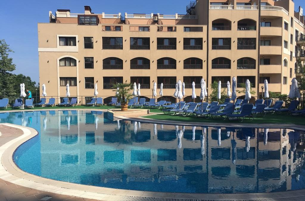 Litoral Bulgaria! Hotel HOLIDAY Park 4* all inclusive/Nisipurile de Aur-280 EURO/pers