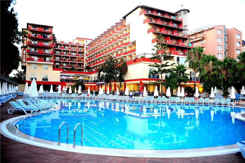 Last minute ANTALYA! Hotel HOLIDAY PARK RESORT 5* All Inclusive- 338  EURO/pers/avion din Suceava