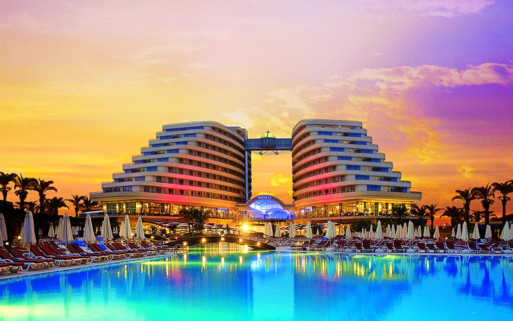 Mega reducere! Luxury style-MIRACLE RESORT5* Ultra all inclusive -645 euro/pers